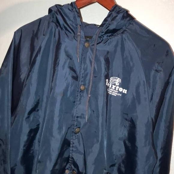 736719cf5 Brixton Jackets & Coats | Button Up Windbreaker | Poshmark